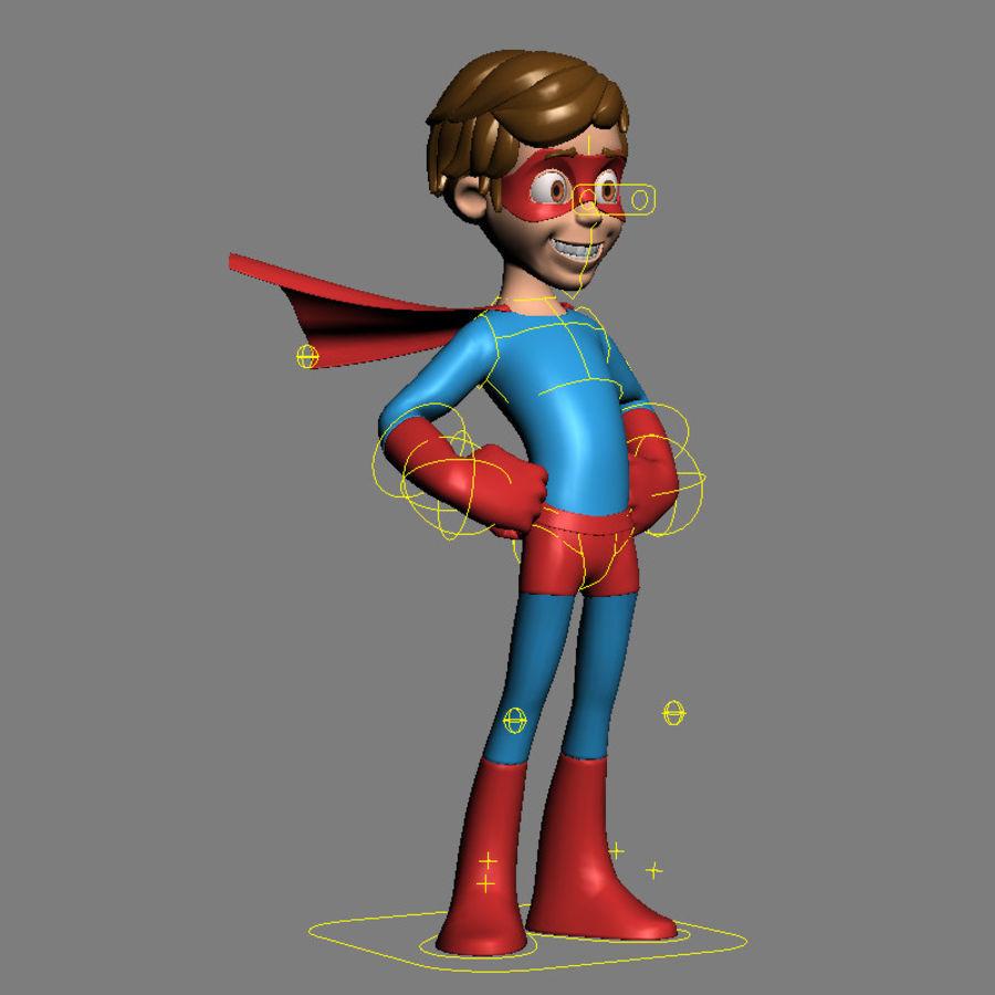 Hero Boy royalty-free 3d model - Preview no. 9