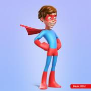 Герой мальчик 3d model
