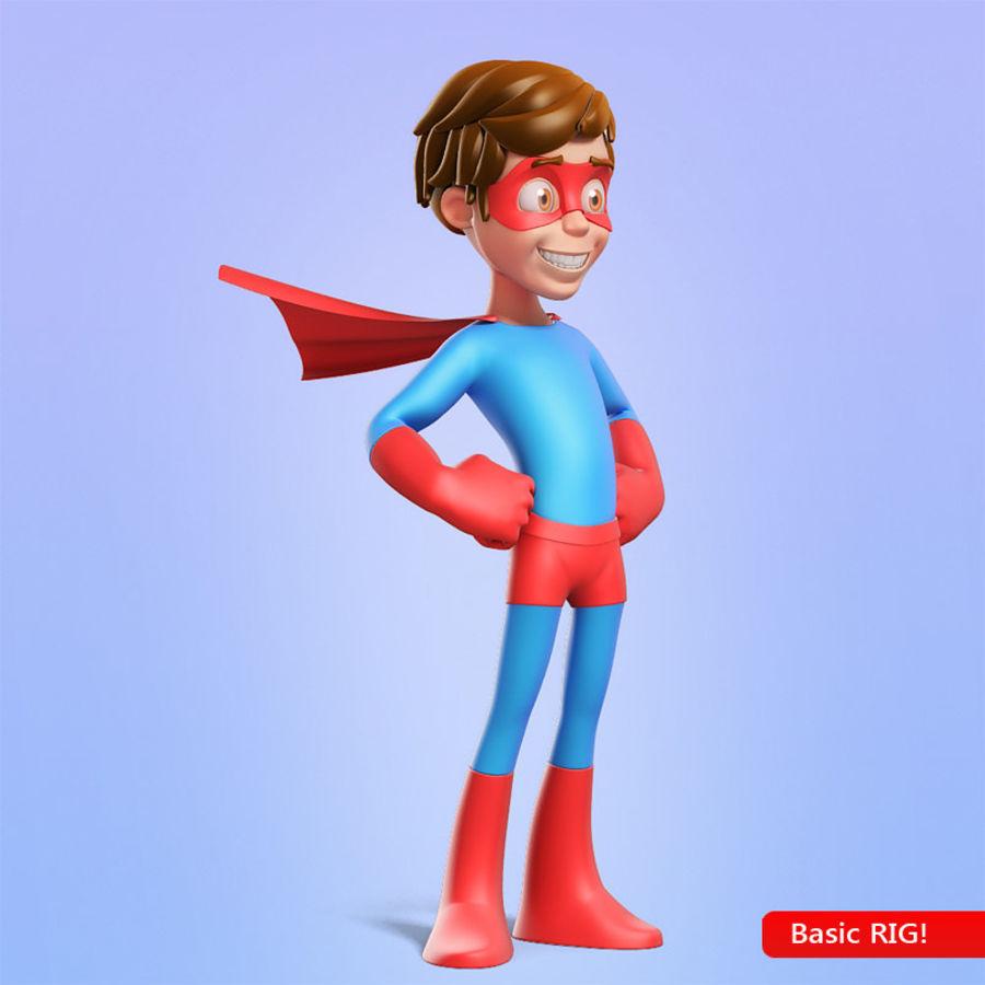 Hero Boy royalty-free 3d model - Preview no. 1
