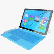 Microsoft Surface Pro 3 + Touch Cover 3d model