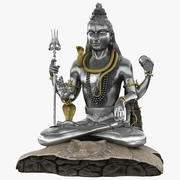 Lord Shiva Statue Murudeshwara 3d model