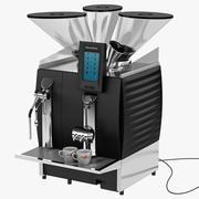 Celebración de la máquina de café espresso Schaerer modelo 3d