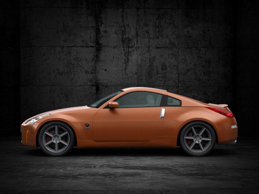 Nissan 350Z royalty-free 3d model - Preview no. 5