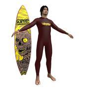 Surfer V2 3d model