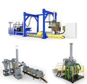 Комплект оборудования 3d model