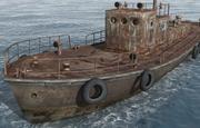 Old_Ship 3d model