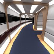 Enterprise D Corridor Set 3d model