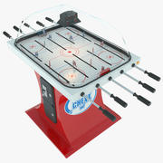 Table Hockey Super Chexx 3d model