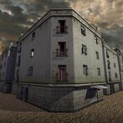 Urban Building 03, Accessible 3d model
