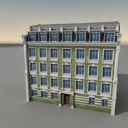 유럽 건물 048 3d model