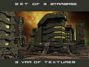 Set Starbase 3d model
