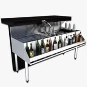 Under Bar Cocktail Station 3d model