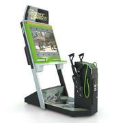Shooter Arcade Game 3d model