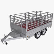 Tipping Trailer 3d model