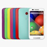 Motorola Moto E all Colour 3d model