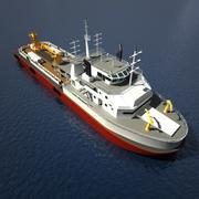 Anchor Handling Tug Supply AHTS 3d model