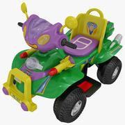 Toy Car 4 3d model