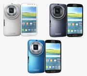 Samsung Galaxy K Zoom All Colors 3d model