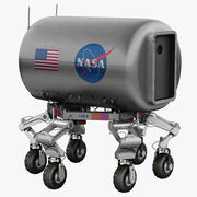 Nasa ATLETA Robotic Lunar Rover 3d model