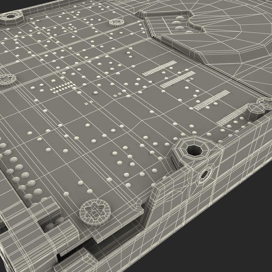 Intern hårddisk royalty-free 3d model - Preview no. 41