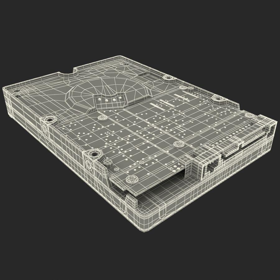 Intern hårddisk royalty-free 3d model - Preview no. 37