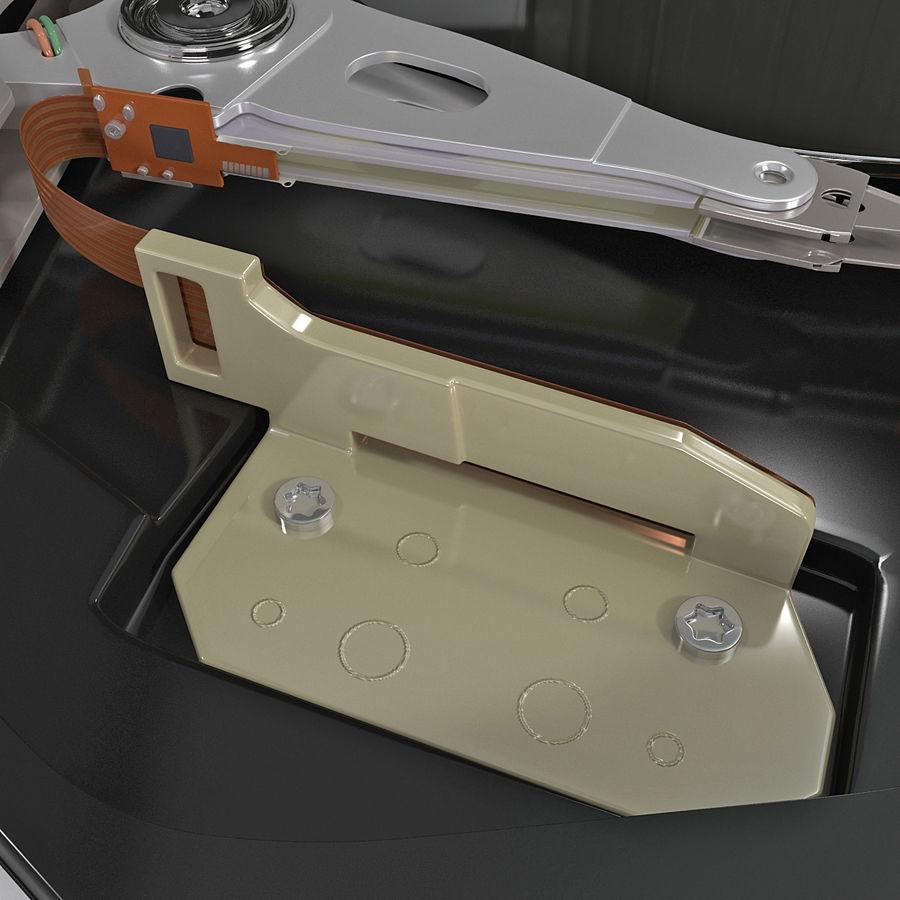 Intern hårddisk royalty-free 3d model - Preview no. 9