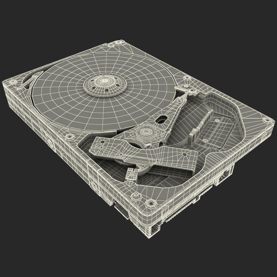Intern hårddisk royalty-free 3d model - Preview no. 25
