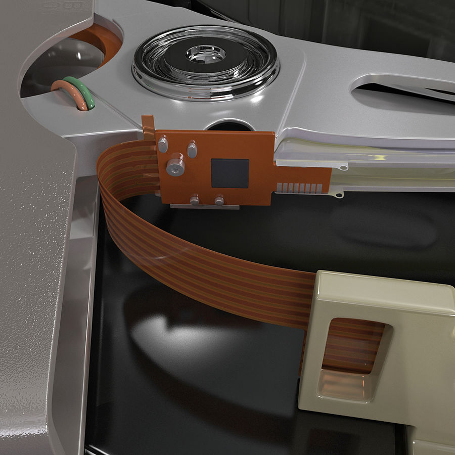 Intern hårddisk royalty-free 3d model - Preview no. 10