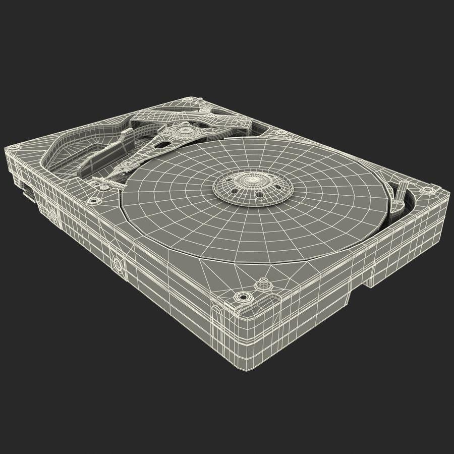 Intern hårddisk royalty-free 3d model - Preview no. 26