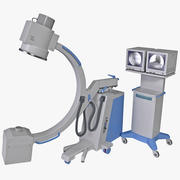 C-Arm X-Ray-systeem 3d model