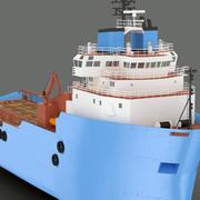 플랫폼 공급 용기 3d model