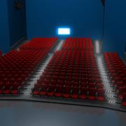 영화관 3d model