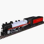 Hudson Lokomotiv 4-6-4 3d model