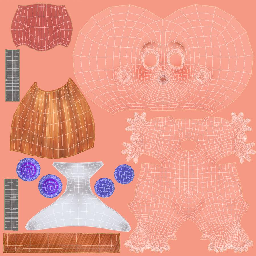 Dessin animé, bébé royalty-free 3d model - Preview no. 18