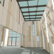 Nowoczesne budownictwo 3d model
