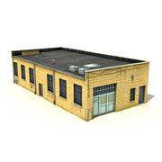 Big Yellow Warehouse 3d model