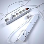 Listwa zasilająca 3d model