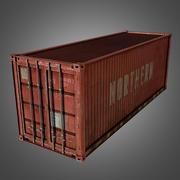 Cargo Container Conex 3d model