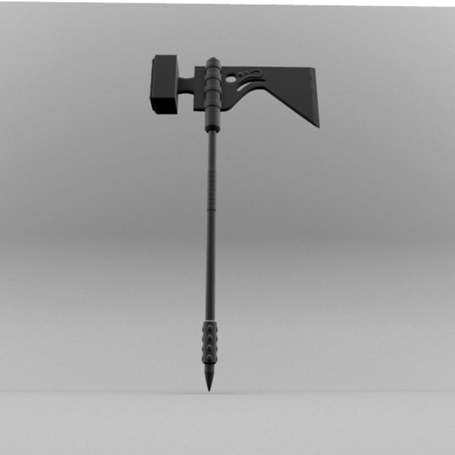 War Axe royalty-free 3d model - Preview no. 4