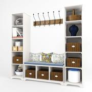 Potterybarn Hallway 3d model