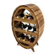 prateleira de vinho 3d model