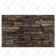 Brick wall dirt 3d model