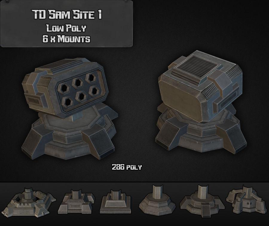 TD Sam Site 01 royalty-free modelo 3d - Preview no. 5