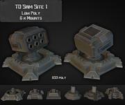 Strona TD Sam 01 3d model