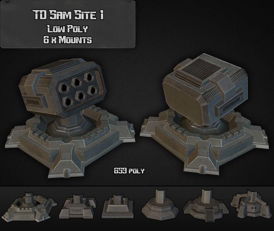 TD Sam Site 01 royalty-free modelo 3d - Preview no. 1