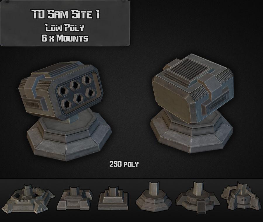 TD Sam Site 01 royalty-free modelo 3d - Preview no. 4