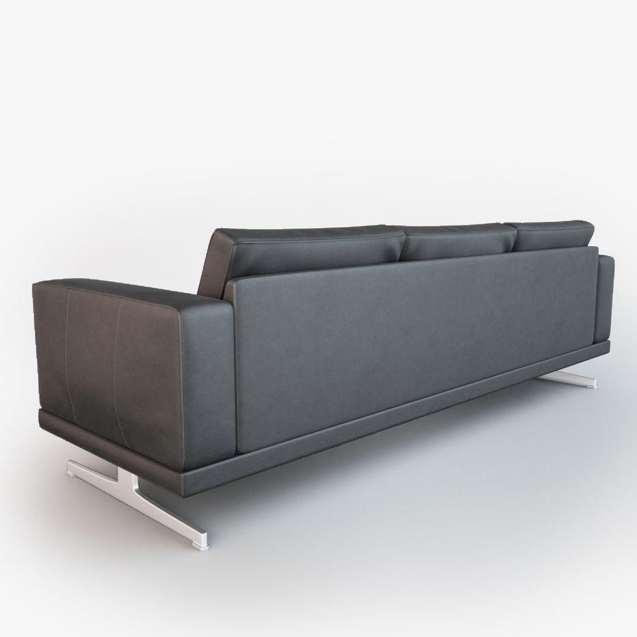 BoConcept Carlton Sofa royalty-free modelo 3d - Preview no. 5