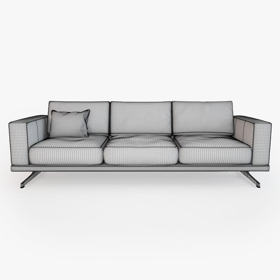 BoConcept Carlton Sofa royalty-free modelo 3d - Preview no. 6
