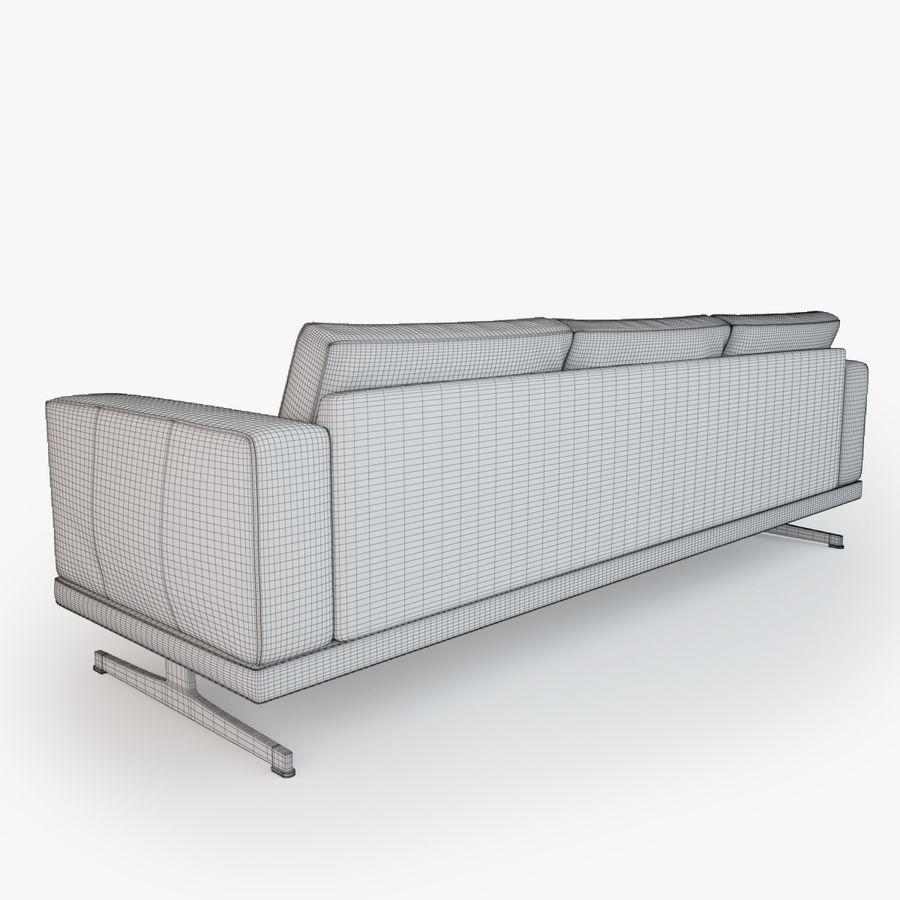 BoConcept Carlton Sofa royalty-free modelo 3d - Preview no. 7