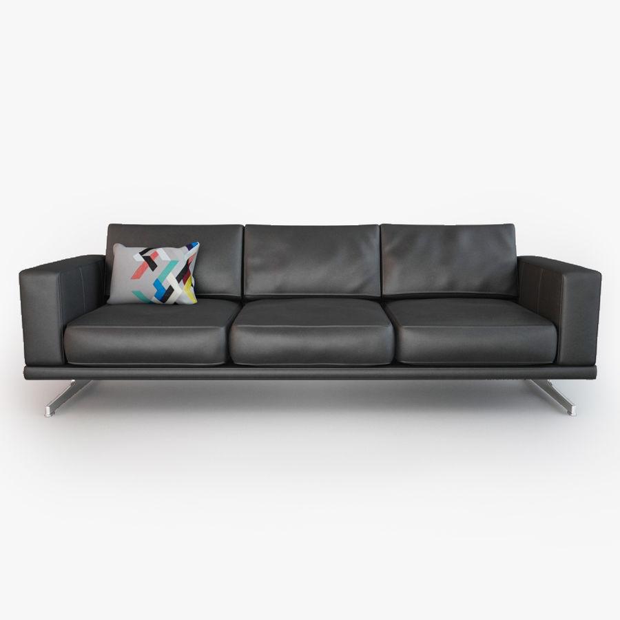 BoConcept Carlton Sofa royalty-free modelo 3d - Preview no. 2